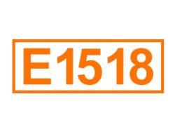 E 1518 ein Lebensmittelträgerstoff