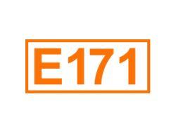 E 171 ein Farbstoff