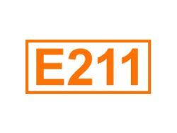 E 211 ein Konservierungsstoff