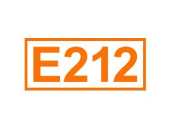 E 212 ein Konservierungsstoff