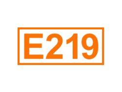 E 219 ein Konservierungsstoff