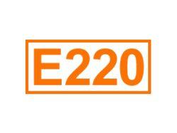 E 220 ein Konservierungsstoff