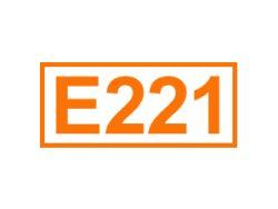 E 221 ein Konservierungsstoff