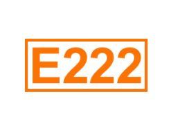 E 222 ein Konservierungsstoff