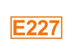 E 227 ein Konservierungsstoff
