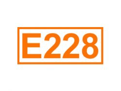 E 228 ein Konservierungsstoff