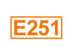 E 251 ein Konservierungsstoff