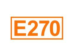 E 270 ein Konservierungsstoff