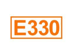 E 330 ein Antioxidationsmittel