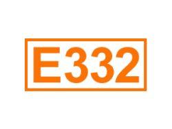 E 332 ein Komplexbildner