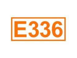 E 336 ein Backtriebmittel