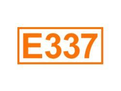 E 337 ein Backtriebmittel