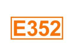 E 352 ein Säureregulator