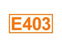 E 403 ein Geliermittel