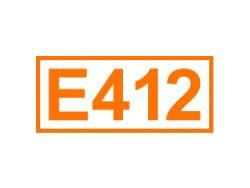 E 412 ein Füllstoff