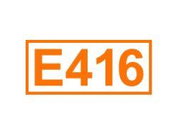 E 416 ein Geliermittel