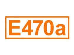 E 470 a ein Emulgator