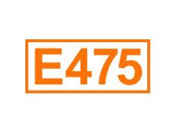 E 475 ein Emulgator
