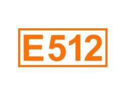 E 512 ein Antioxidationsmittel