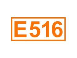 E 516 ein Festigungsmittel