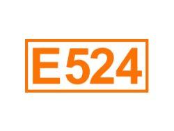 E 524 ein Säureregulator
