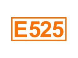 E 525 ein Säureregulator