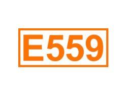 E 557 ein Trägerstoff