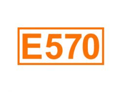 E 570 ein Trägerstoff