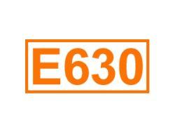 E 630 ein Geschmacksverstärker