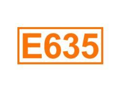 E 635 ein Geschmacksverstärker