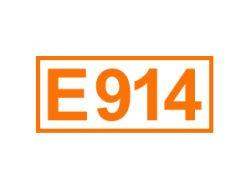 E 914 ein Überzugsmittel