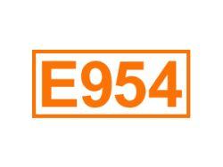 E 954 ein Süßungsmittel
