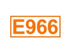 E 966 ein Süßungsmittel