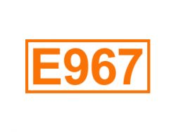 E 967 ein Lebensmittelzusatzstoff