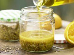 Emulgatoren werden häufig in Salatsaucen gebraucht