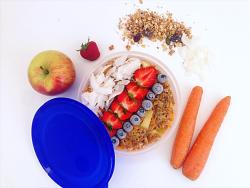 Meal-prep für das gesunde Frühstück