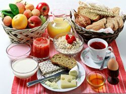 Wer nicht zunehmen will, sollte nie das Frühstück auslassen.