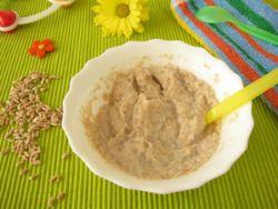 Getreidebrei: Baby-Mahlzeit mit Biss © Heike Rau - Fotolia.com