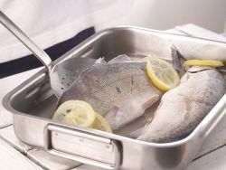 Frische Süßwasserfische können gebläut werden.