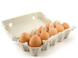 Eiergrößen gibt es in S, M, L und XL