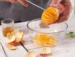 Zitrusfrüchte und Fisch können filetiert werden.