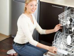 Spülmaschine auf, Essen rein?