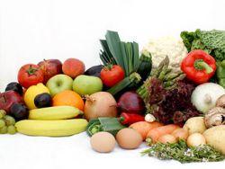 Gesund: Fünf Portionen Obst und Gemüse täglich.