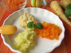 Mögen Kinder püriertes Gemüse lieber?