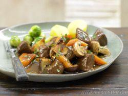 Ein Hightlight der herbstlichen Saisonküche: Hirschgulasch
