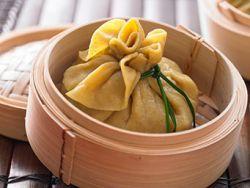 Dim Sum sind chinesische Teigtaschen aus Nudelteig.