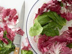 Im Schleudergang wird Ihr Salat fix trocken.