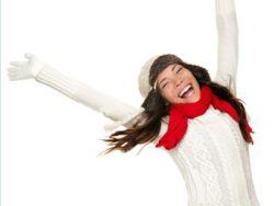 Ernährung, Gesundheit, Sport: der kälte trotzen