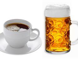 Eine interessante These: Kaffee macht alt, Bier hält jung. Stimmt das?