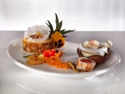 Kulinarisches Quintett der bunten Inseln